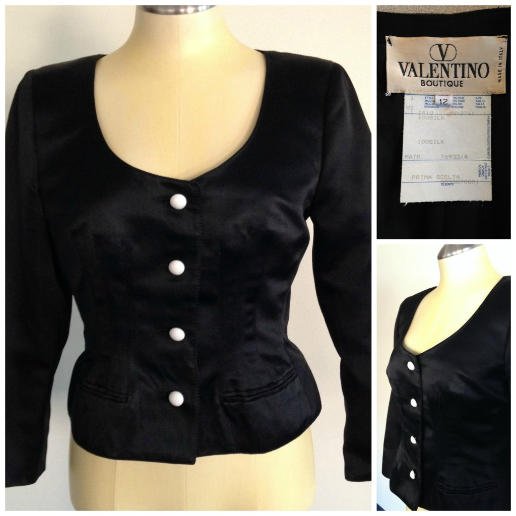 Black Valentino Jacket
