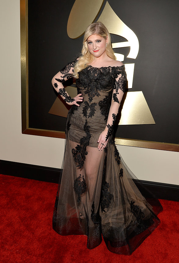 meghan-trainor-grammy-2015-red-carpet