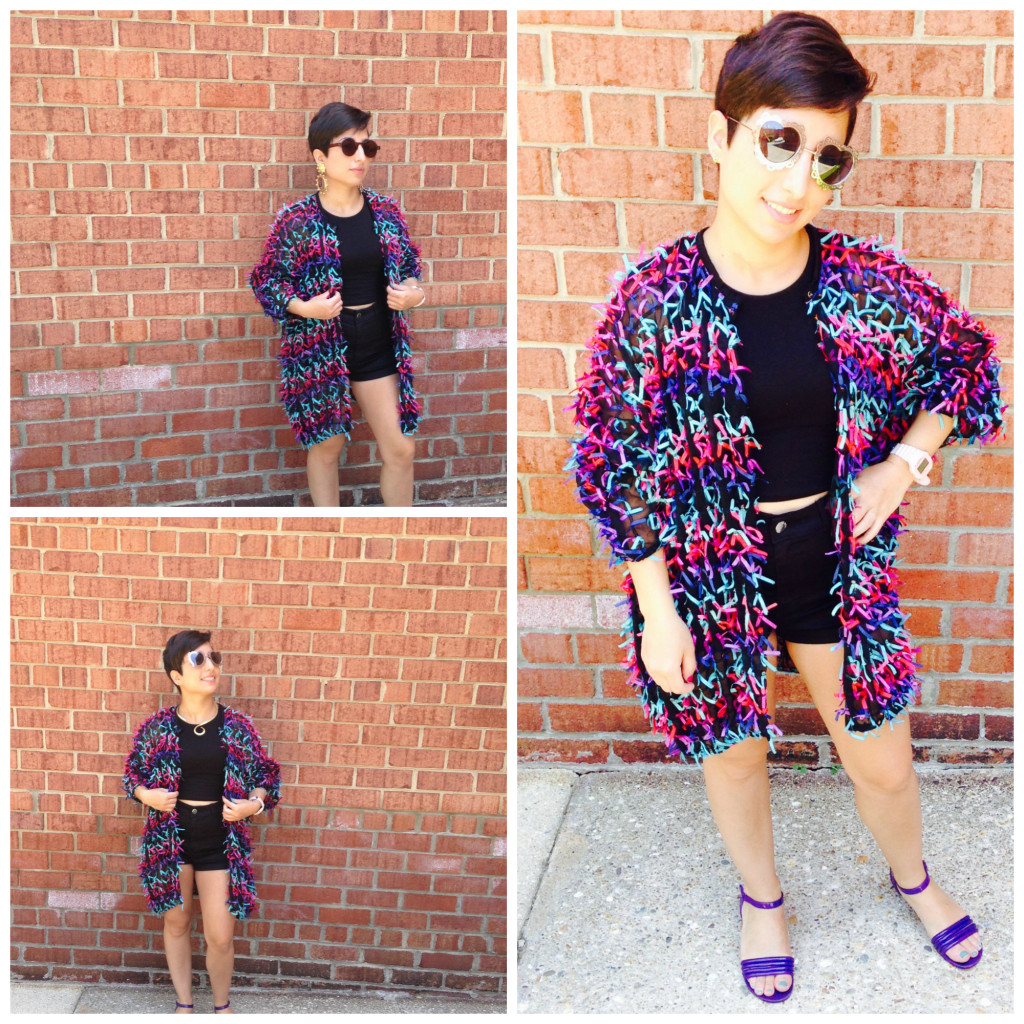 This is how I would style it.