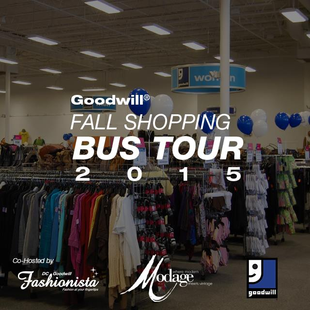 Goodwill Fall Shopping Bus Tour 2015