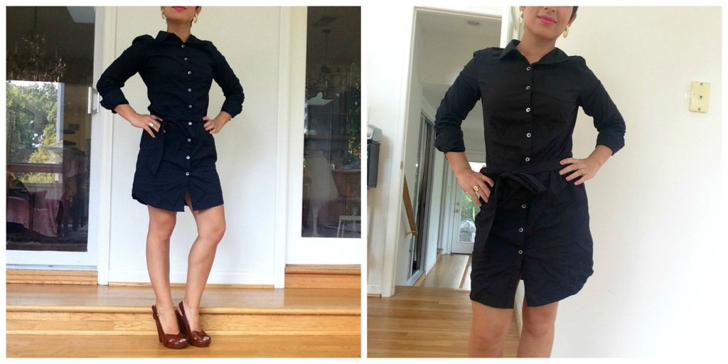 5 Summer to Fall LBDFGs (Little Black Dresses from Goodwill)