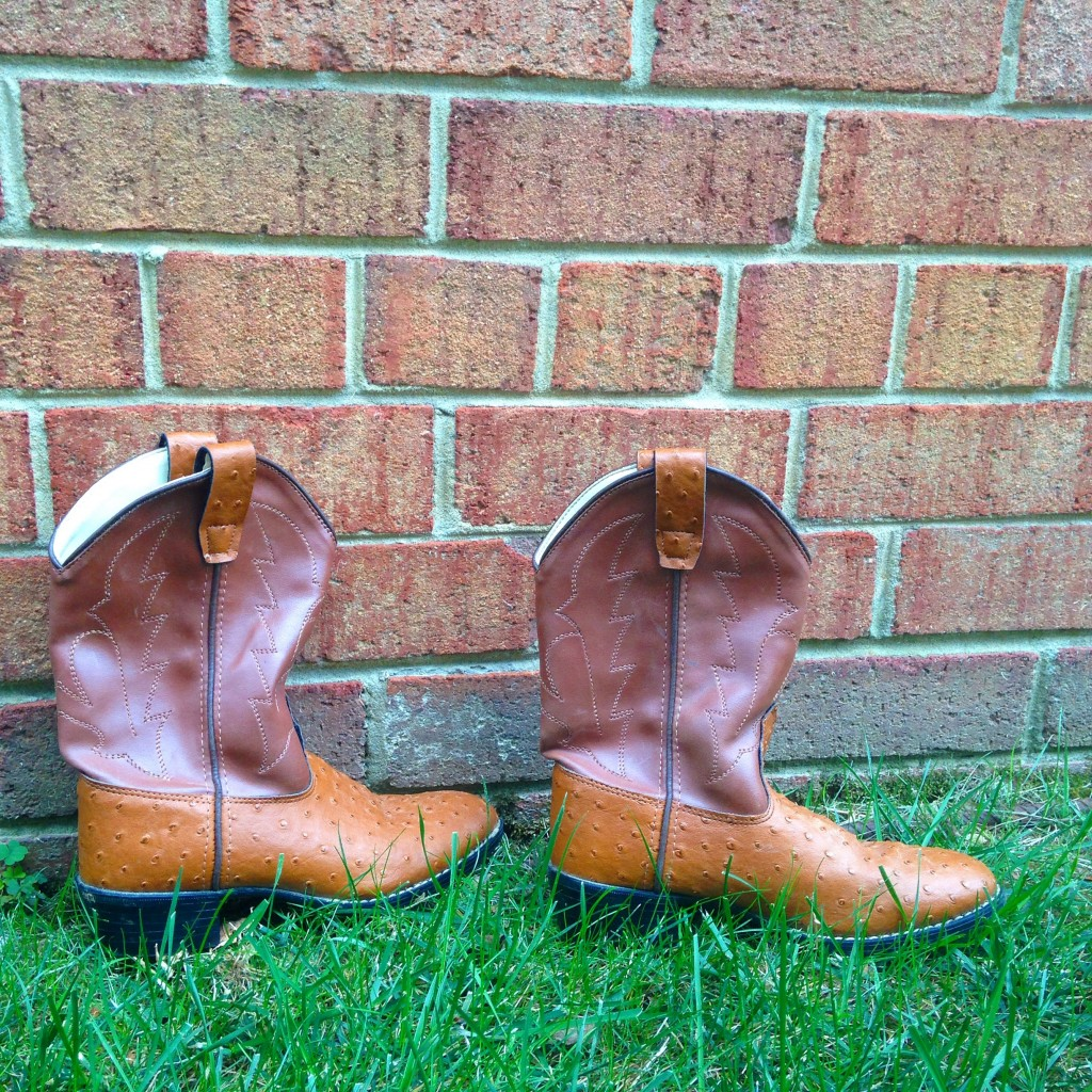 goodwill vintage cowboy boots