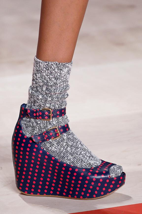 socks and sandala