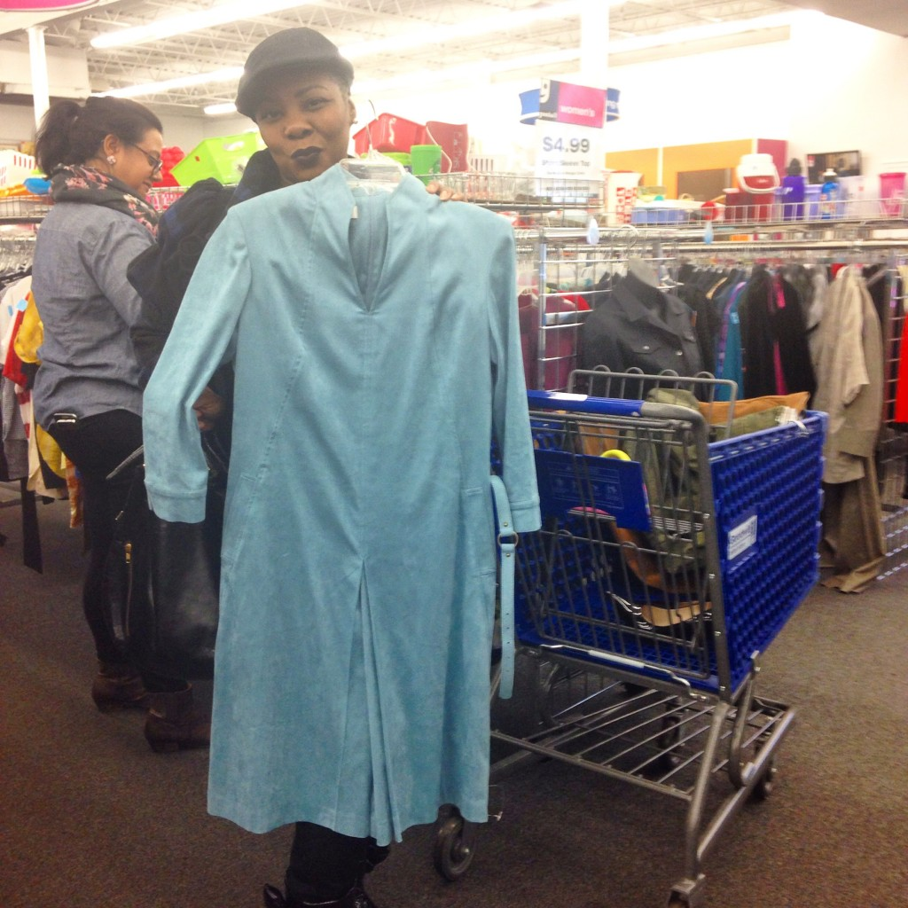 Goodwill shopper