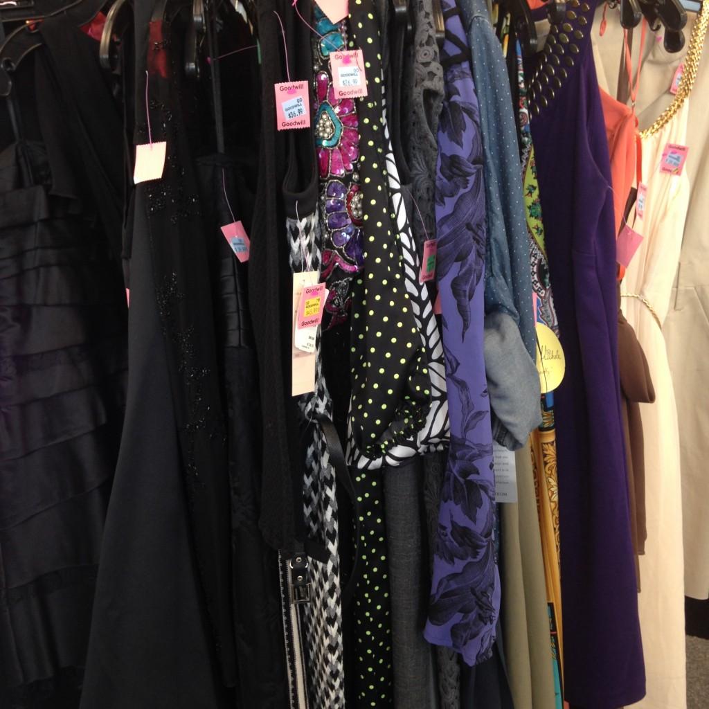 goodwill dresses
