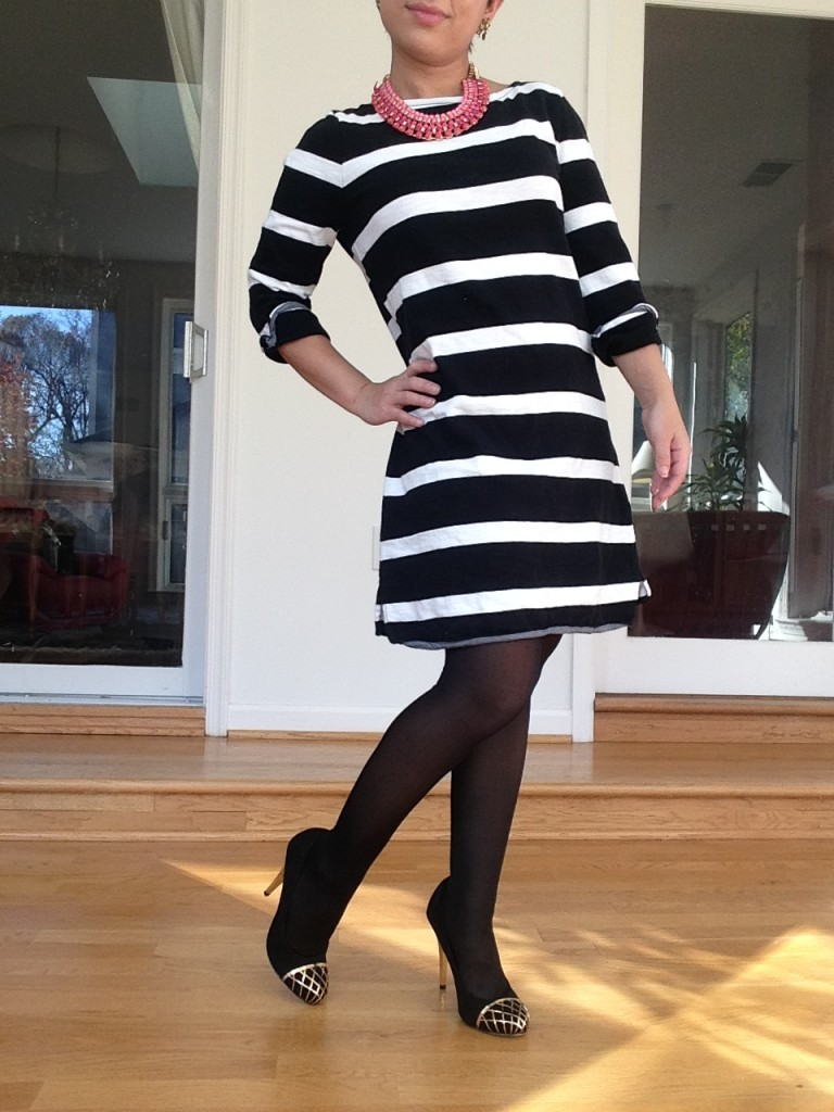This was my favorite find. A J Crew dress for under $8. I can'r wait to wear it to work!