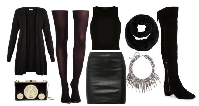 All black ensemble