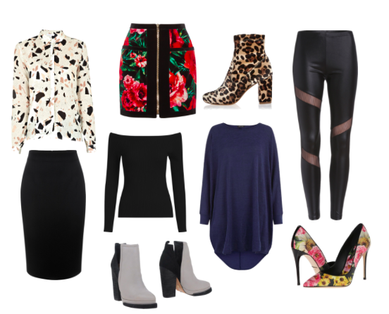 bold patterns and solids