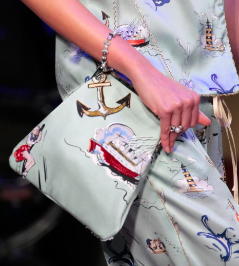 grahpic handbags