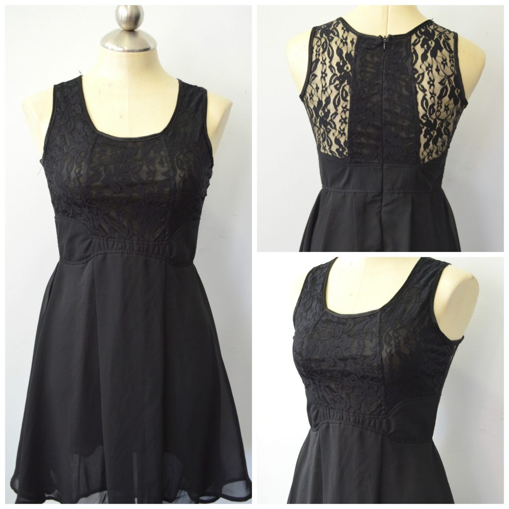 little black lace party dress from CBRL