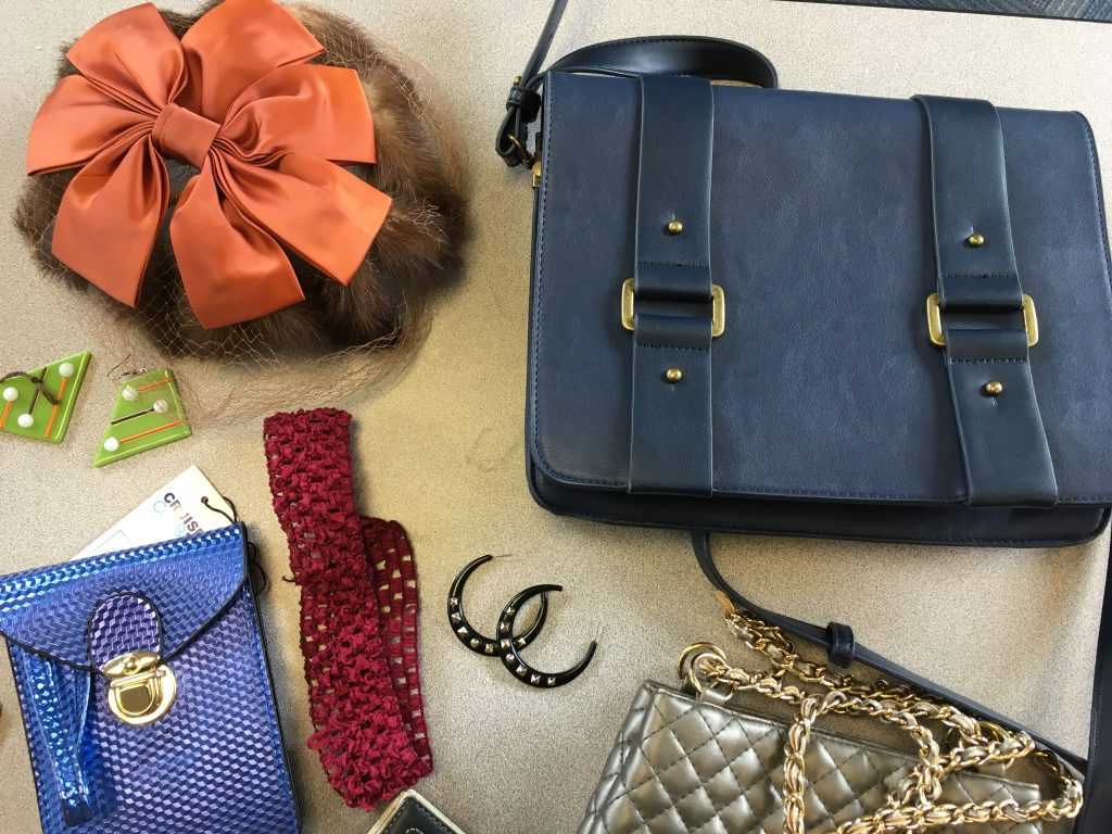 purses and head pieces