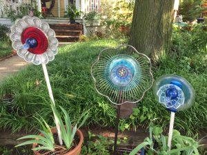 DIY Blog flower garden close up