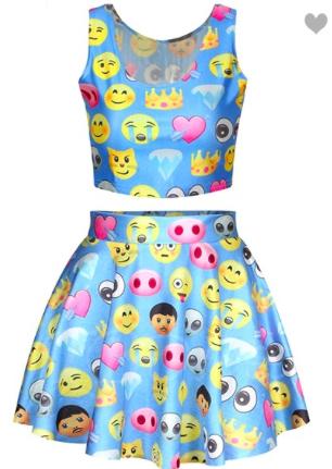 emoji-dress