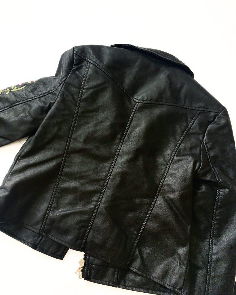 back of motorcycle jacket