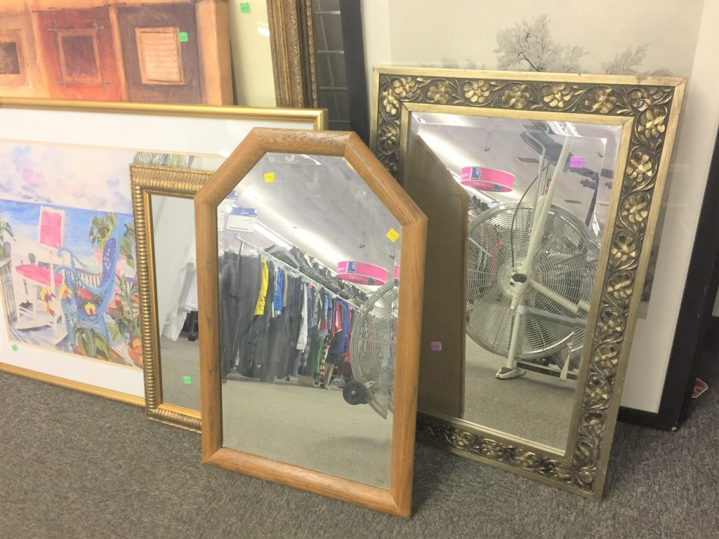 Goodwill mirrors
