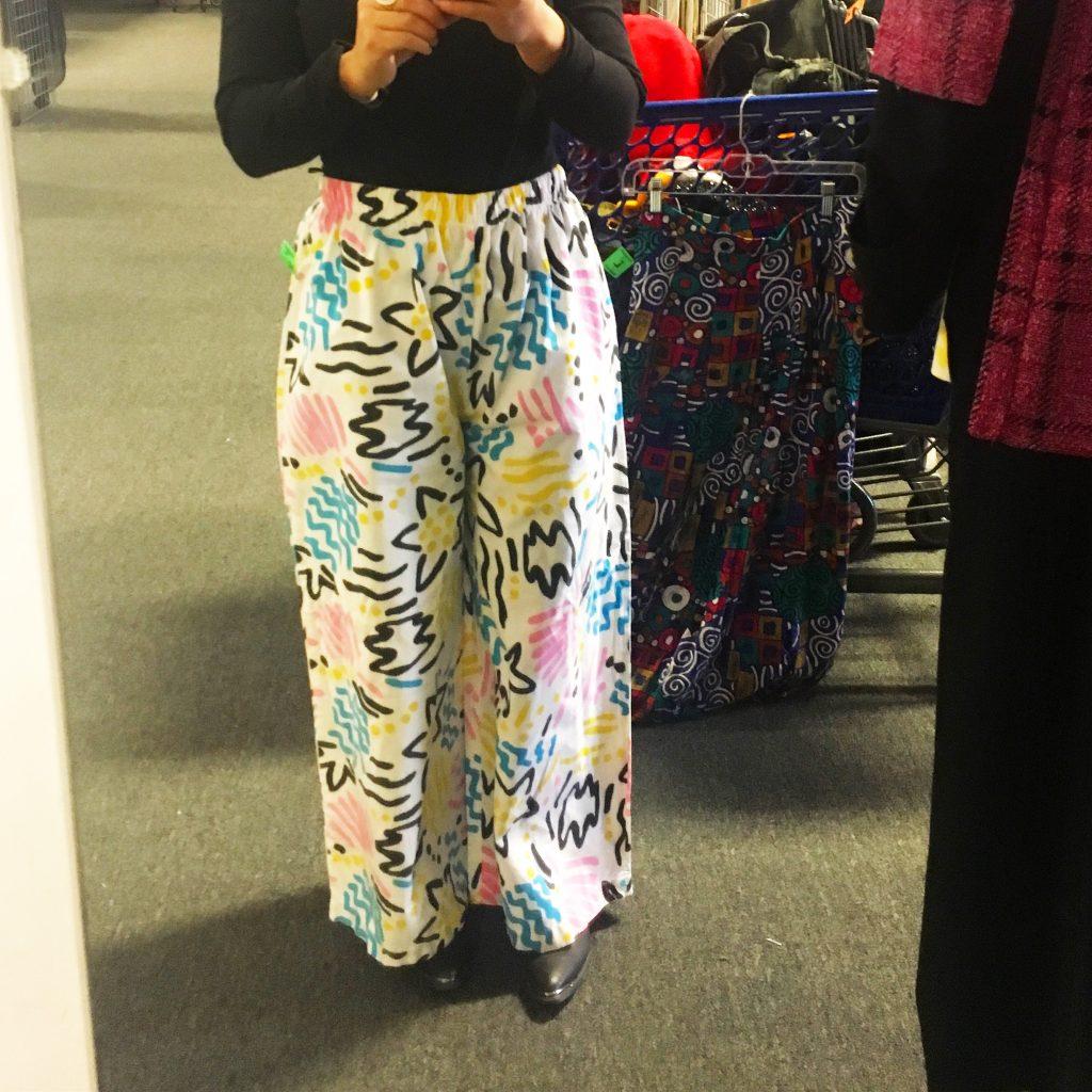 80s oversized pants