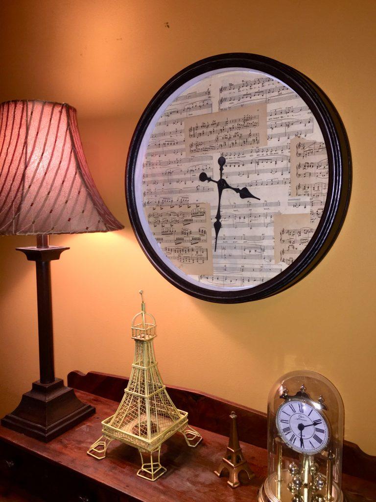 Goodwill clocks sheet music after