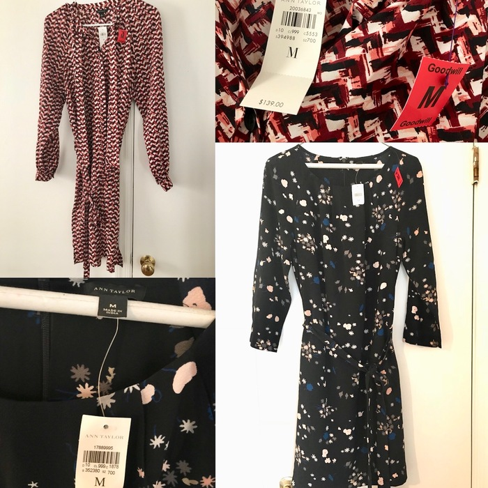 Ann Taylor dress found at Goodwill (with original tags intact)
