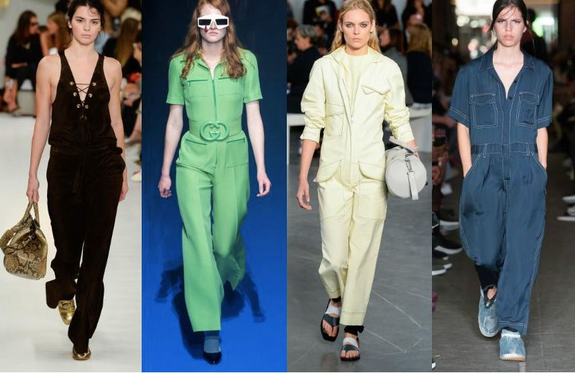 Jumpsuits trending on the runway during Fashion Week