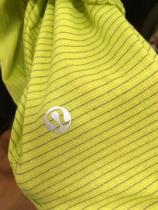 Lululemon knit top from Goodwill of Somerville, MA