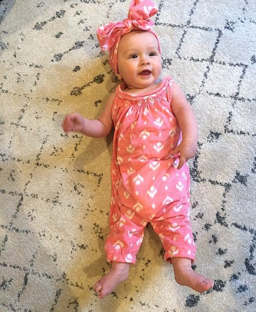 Turning a Tank Top Into a Baby Romper