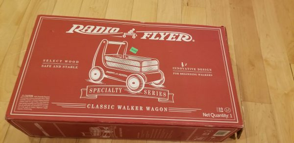 Radio flyer wagon/toy chest found at Goodwill