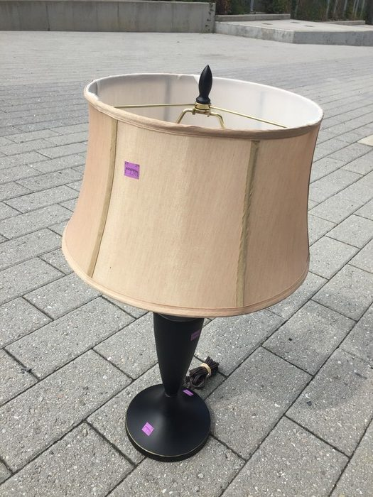 Tim's lamp found at Goodwill