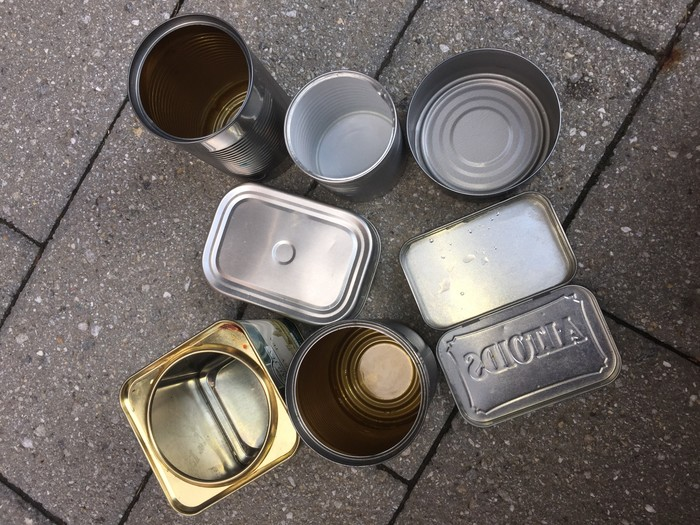 Tim's tin cans