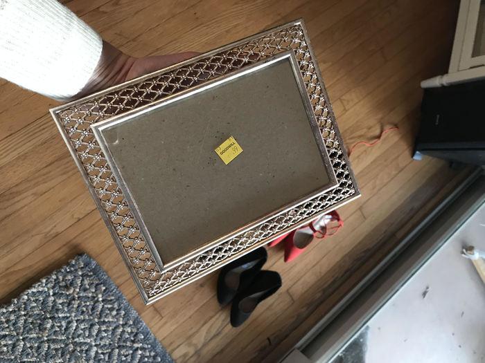 Karen's frame found at Goodwill