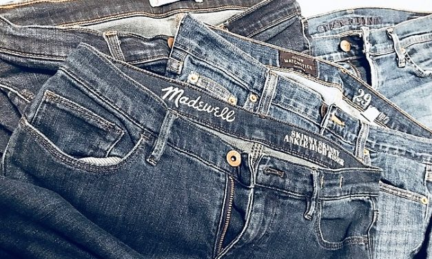 3 Reasons Why You Should Buy Your Jeans at Goodwill