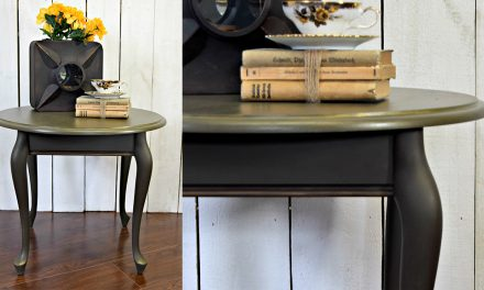 A Little Round Table for Many Decorating Styles