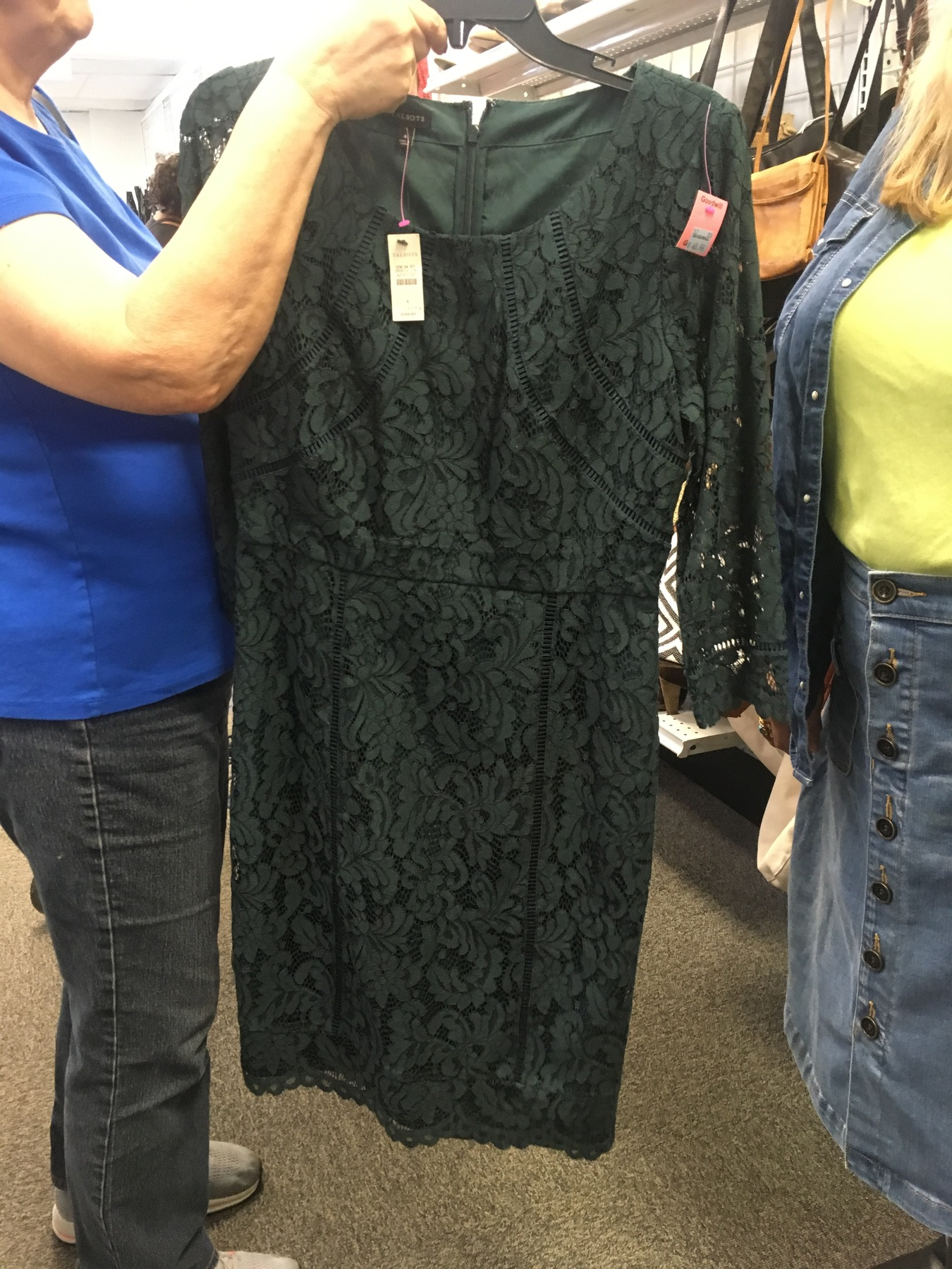 Talbots dress found at Richmond Highway Goodwill