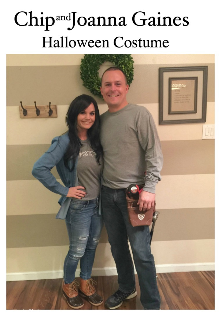 Couple dresses up as Chip and Joanna Gaines for Halloween