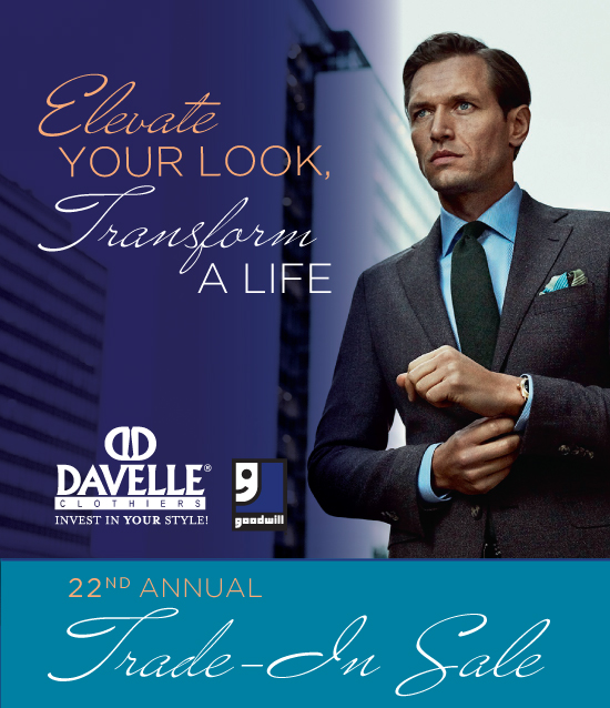 Davelle Clothiers Trade-In Event