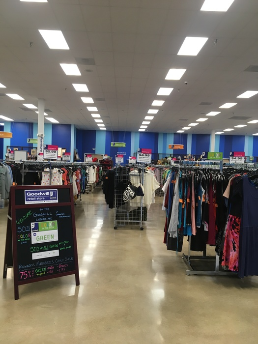 inside of Liberia Ave store
