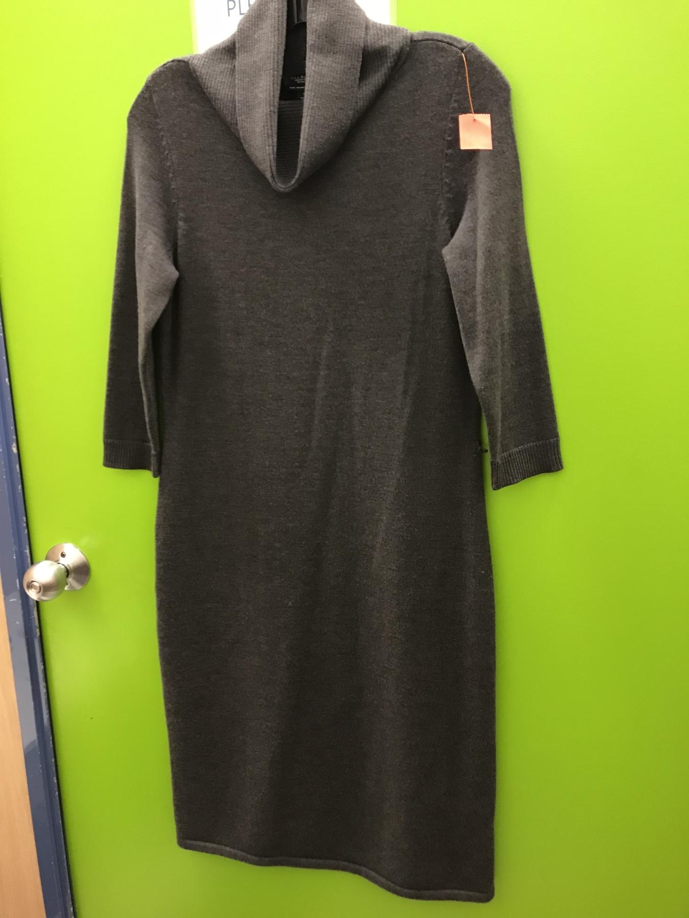 Talbots sweater dress found at goodwill