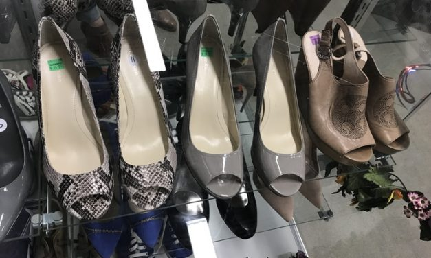 Why You Should Be Shoe Shopping at Goodwill