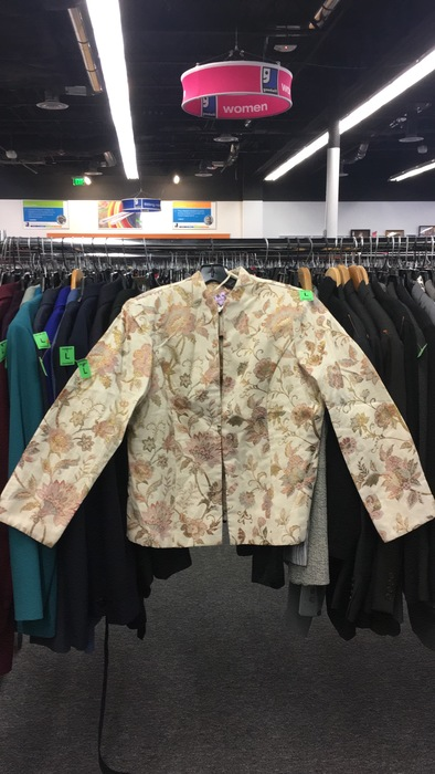 quilted jacket found at Sully Station store