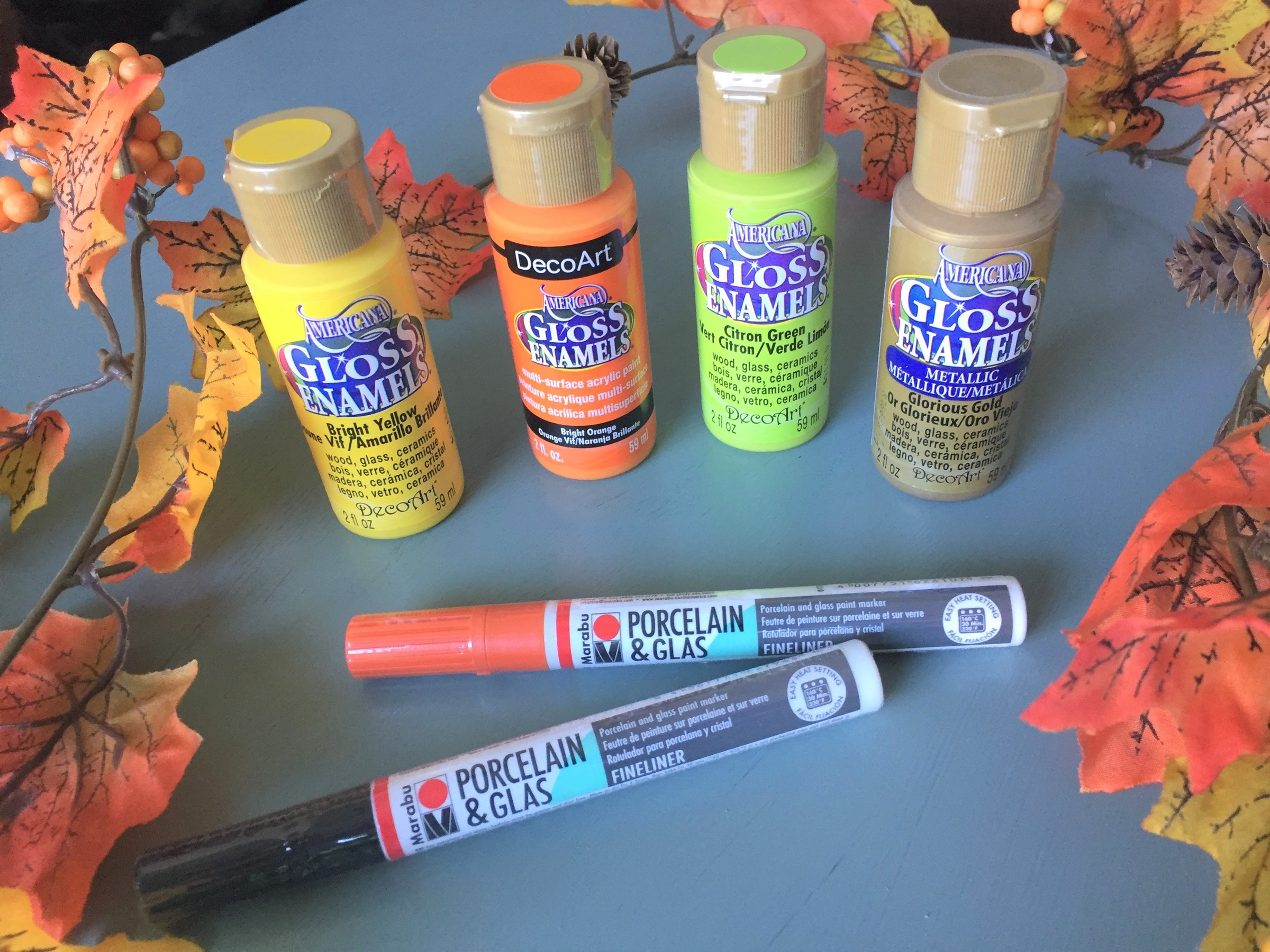 Tim's gloss enamel paint in assorted colors