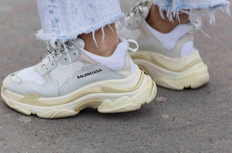 "Yay or Nay? Chunky White ""Dad"" Sneakers"