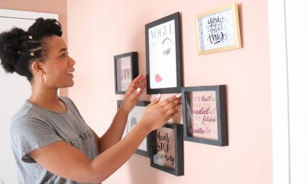 Affordable Home Makeover: How to Build a Gallery Wall