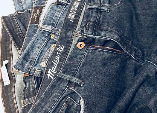 Jeans + Ties = Apron!