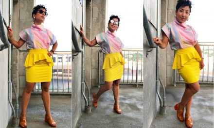 What I Wore: Saved by the Pastel