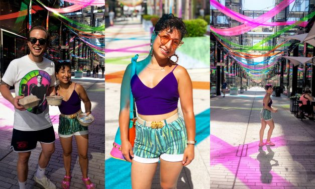 What I Wore: Rays of Color at CityCenter