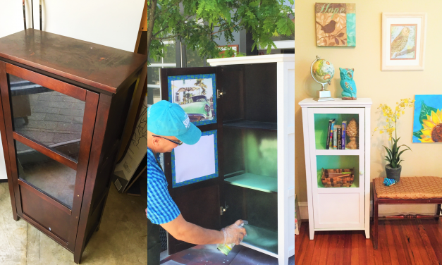 Easy as Pie: A DIY Country Charm Cabinet