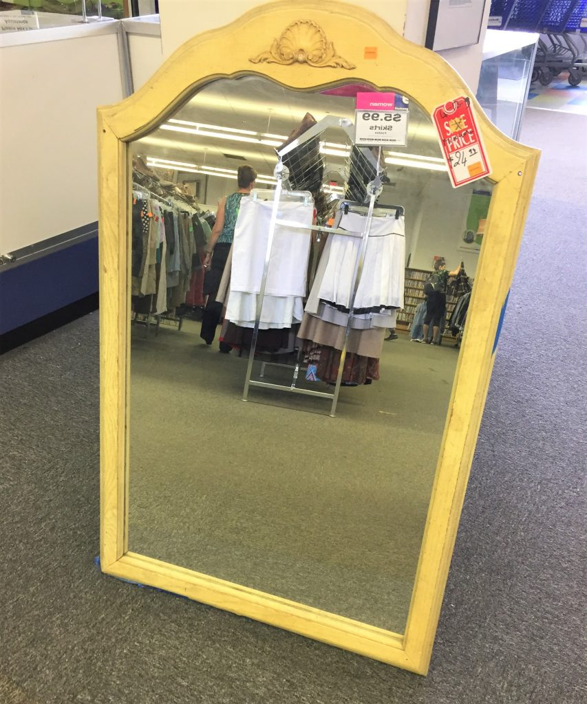 Upcycle A Mirror To Reflect Your Style Finding Your Good