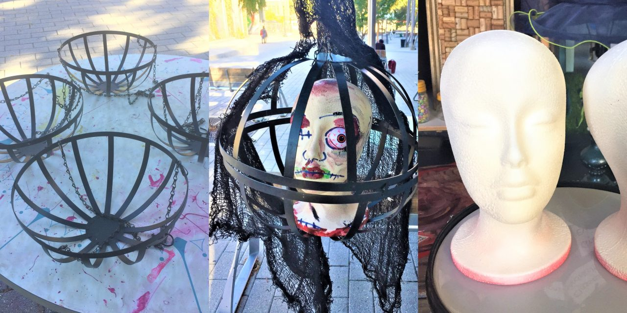 Halloween DIY Project: Planters Gone Morbid