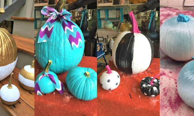Make Pumpkins Pop with Paint: 4 Design Ideas