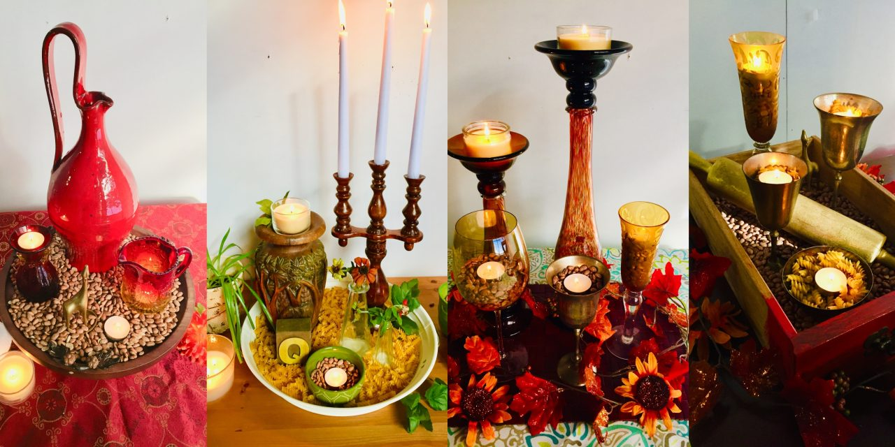 5 Steps/5 Ideas: Arrange Accessories into Awesome Autumn Arrangements