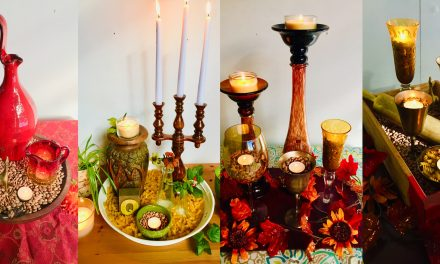 5 Steps/5 Ideas: Arrange Accessories into Awesome Autumn Arrangements